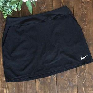 NIKE Golf DRI-FIT Tournament Knit Skirt/Skort, Lg